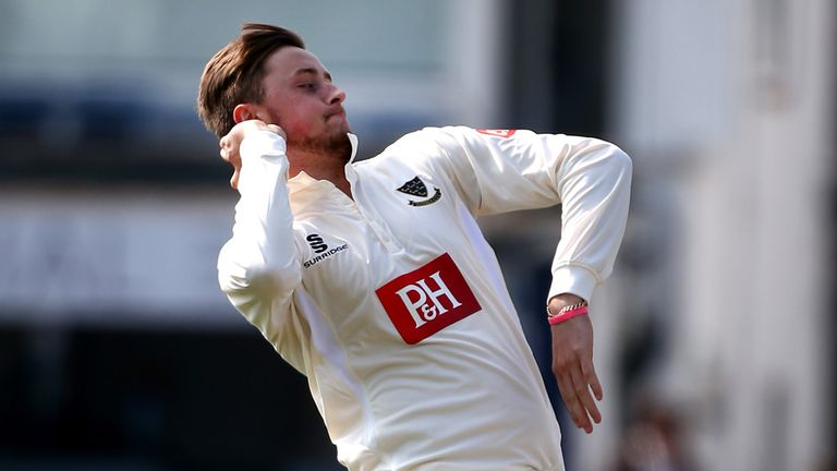 Ollie Robinson impressed during his debut season for Sussex
