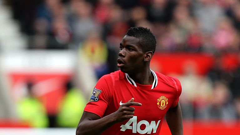 Paul Pogba, Manchester United, March 2012