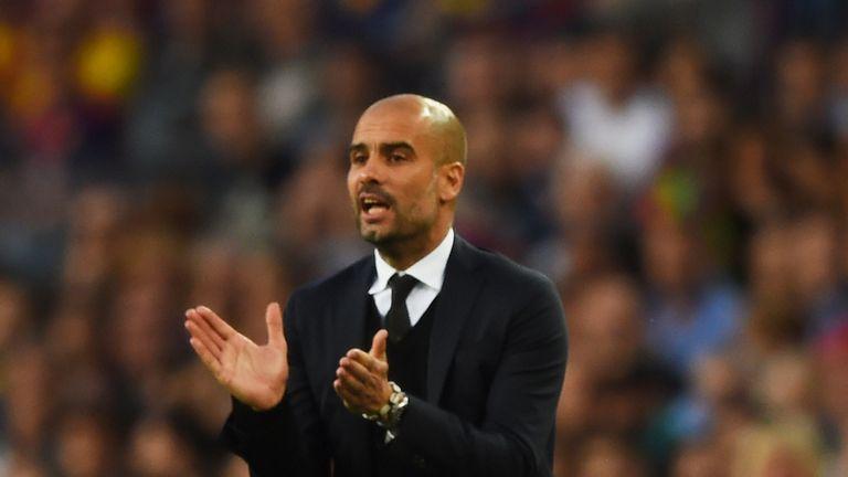 Pep Guardiola, Barcelona v Bayern Munich, Champions League