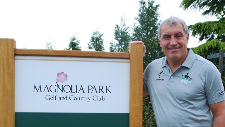 Former England goalkeeper Peter Shilton at Magnolia Park Golf and Country Club