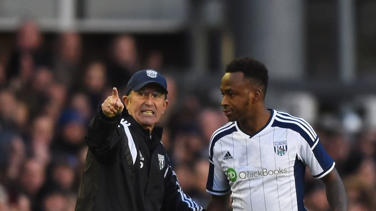 Tony Pulis believes West Brom is the best place for Saido Berahino to develop.
