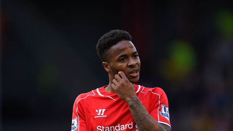 Raheem Sterling, Liverpool v Crystal Palace, Premier League