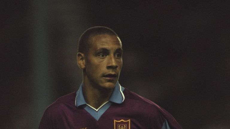 Rio Ferdinand was lauded as a potential superstar as a youngster at West Ham