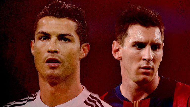 Ronaldo's rivalry with Messi has been a feature of his career