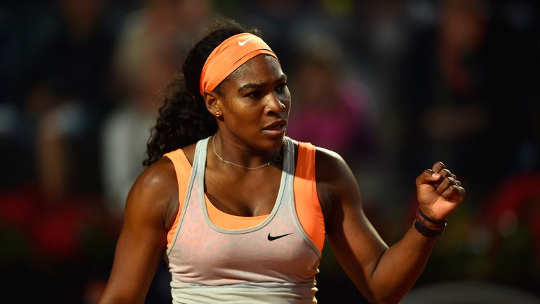 Serena Williams: Saved four break points