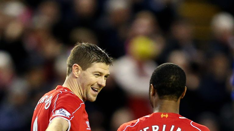 Steven Gerrard has called on Raheem Sterling to stay at Liverpool