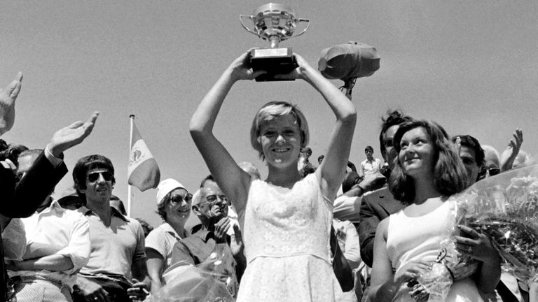 Sue Barker was the last British winner at the French Open, in 1976