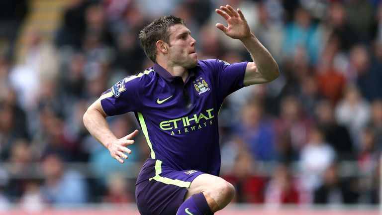 Milner: Scored eight goals in 45 appearances for City in all competitions last season