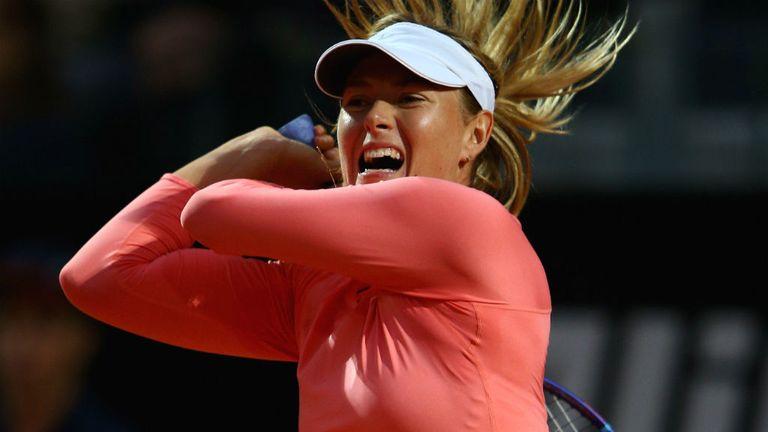 Maria Sharapova : Outclassed Victoria Azarenka in Rome