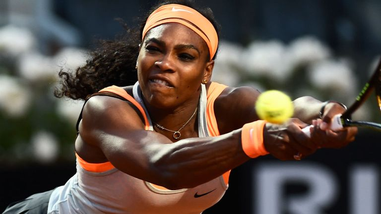 Serena Williams: Withdrew with right elbow injury