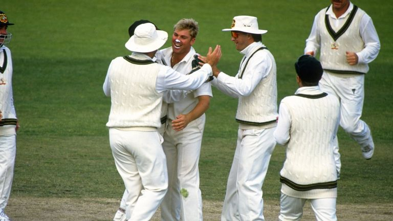 Shane Warne was part of a formidable Australian side in the 90s
