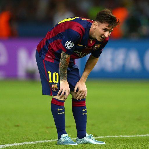 Messi's transfer odds