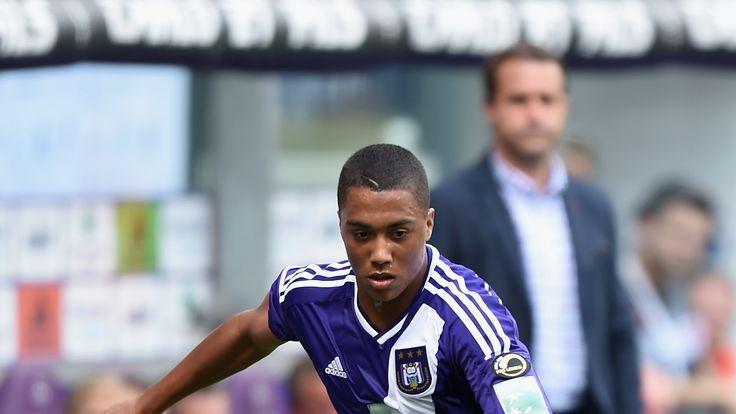 Youri Tielemans of Anderlecht