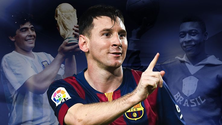 Lionel Messi: Greatest of all time? Pele and Diego Maradona are his rivals