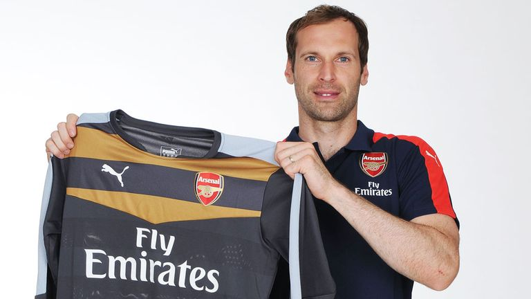 Image result for cech sign arsenal