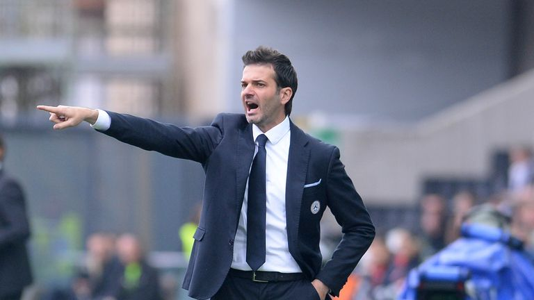 Andrea Stramaccioni: Will leave Udinese at the end of the month