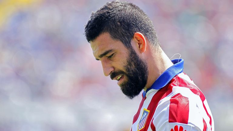 Arda Turan: could be set for a Premier League move