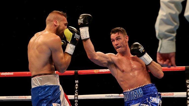 Callum Smith: Defeated the tough Frenchman