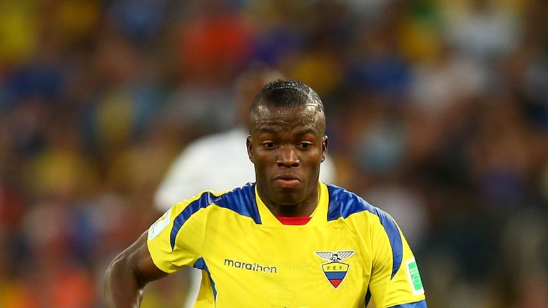 Enner Valencia starred for Ecuador at the World Cup