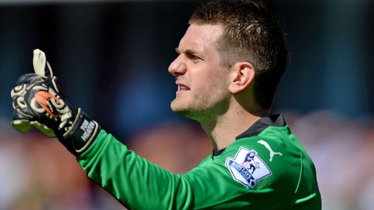Tom Heaton is hungry to add to his three England appearances to date