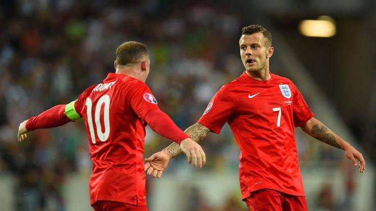 Jack Wilshere scored two stunning goals against Slovenia in the summer