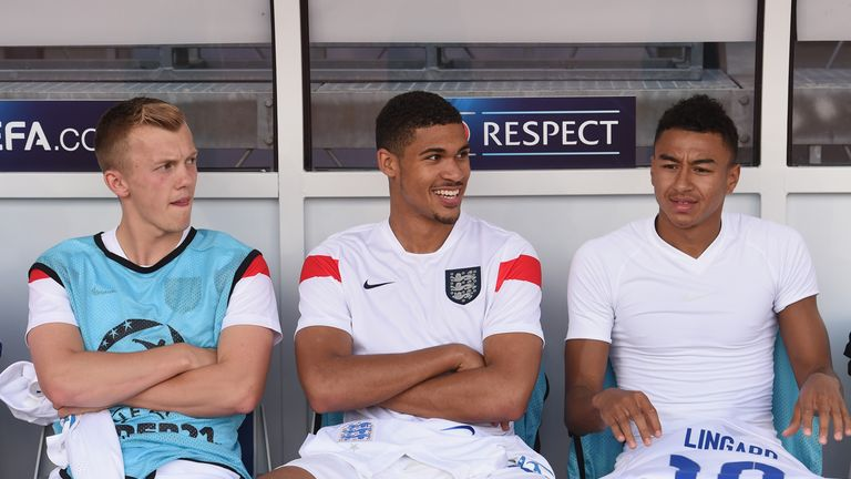 Ruben Loftus-Cheek is the youngest player in England's Under-21 squad