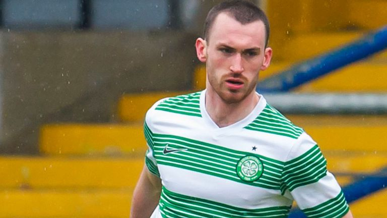 Joe Chalmers: Has left Celtic for Motherwell