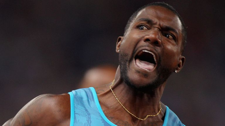 Gatlin has twice been banned for doping offences during his career