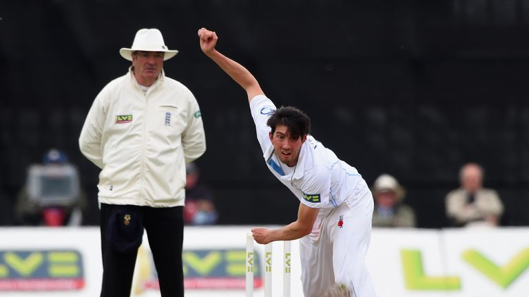 Mark Footitt has impressed for Derbyshire but has now joined Surrey