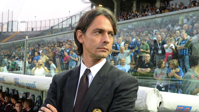 Filippo Inzaghi: Relieved of duties in Milan