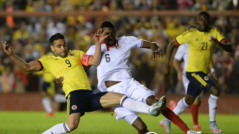 Colombia's Radamel Falcao is expected to join Chelsea on loan