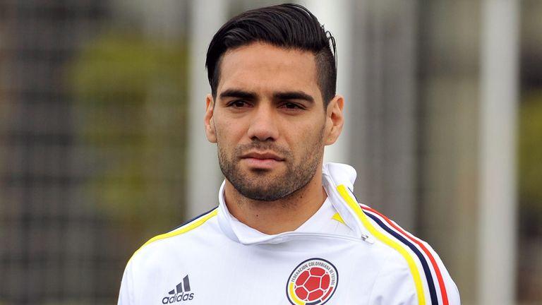 Colombian national football team player Radamel Falcao