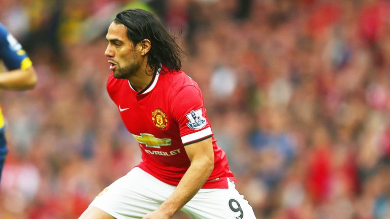 Radamel Falcao left Manchester United to join Chelsea on loan last summer