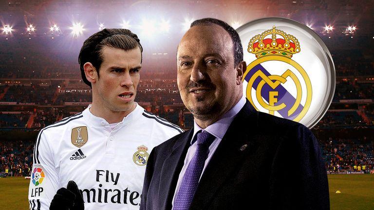 Rafa Benitez and Gareth Bale
