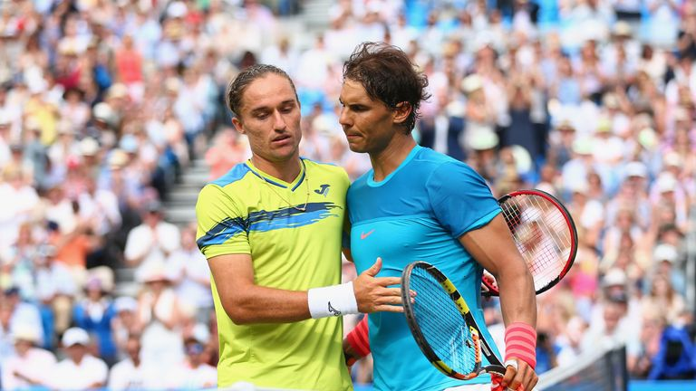 Alexandr Dolgopolov picked up a second successive win over the Spaniard