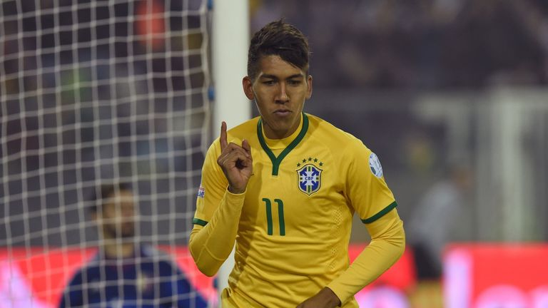 Roberto Firmino: One of three South American players in talks Liverpool