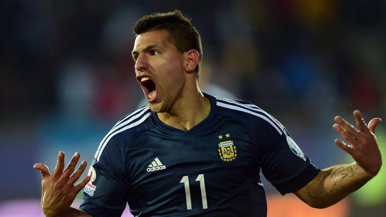 Sergio Aguero: Netted twice so far