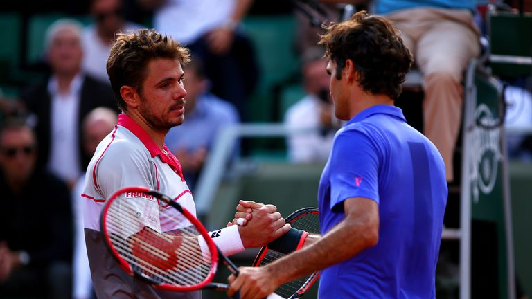 Wawrinka beat Swiss compatriot Roger Federer in the quarter-finals
