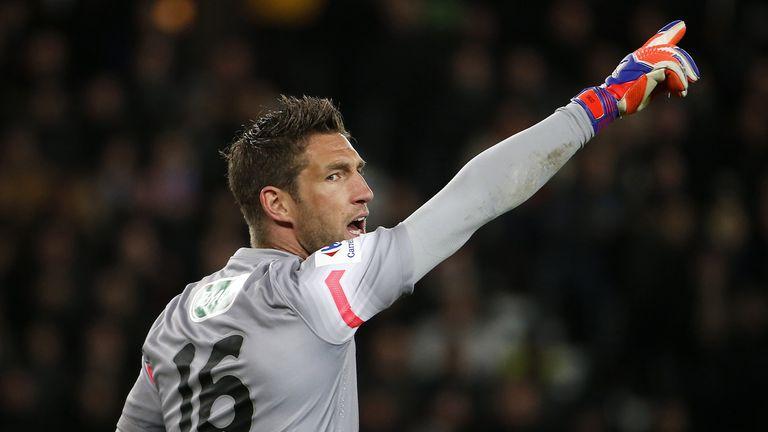 Maarten Stekelenburg: The Dutch goalkeeper struggled for playing time at Monaco.