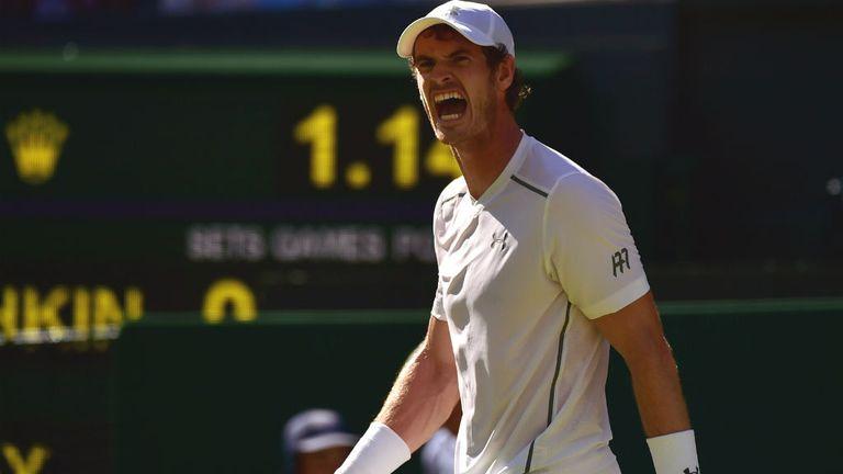 Murray was given a bumpy ride against Kazakhstan's Kukushkin