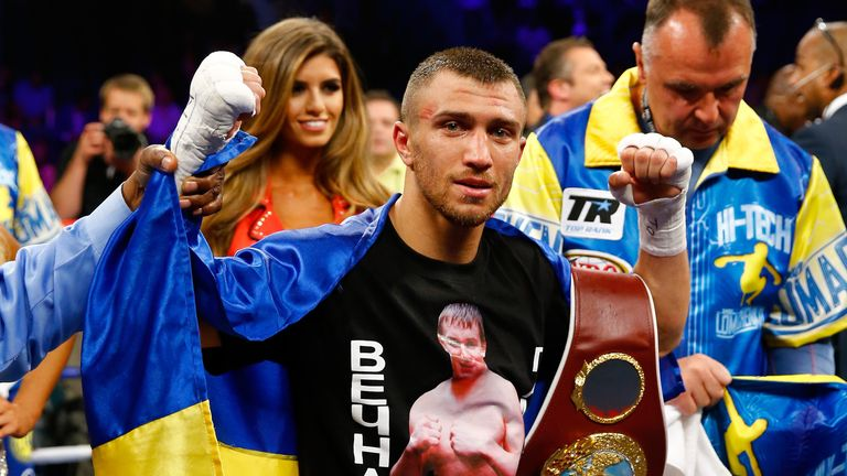 Vasyl Lomachenko took just three fights to be crowned world champion