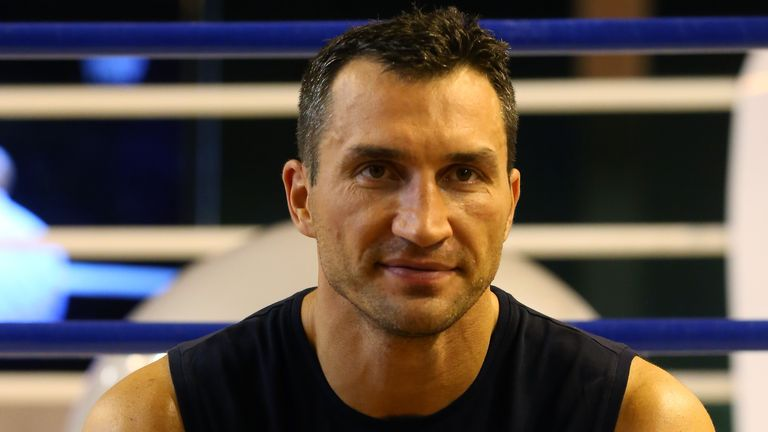 Wladimir Klitschko: Ready for war of words with Tyson Fury