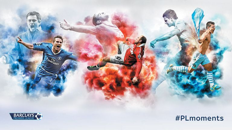Frank Lampard,, Wayne Rooney and Sergio Aguero all feature in our 160 Premier League moments