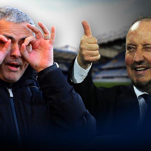 Mourinho v Benitez in quotes