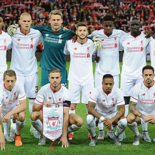 Liverpool's new XI
