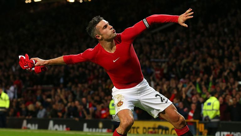 Van Persie's departure could leave United short of strikers