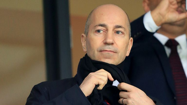 Gazidis said every candidate they interviewed to replace Arsene Wenger was 'interested in the position'