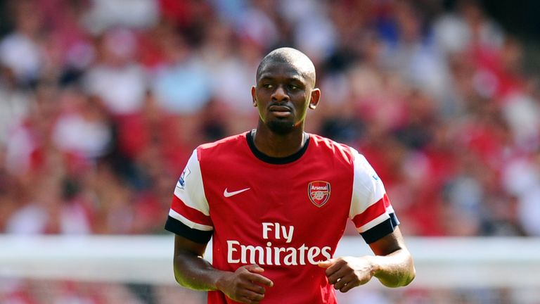 Abou Diaby missed the most days of any player in the team