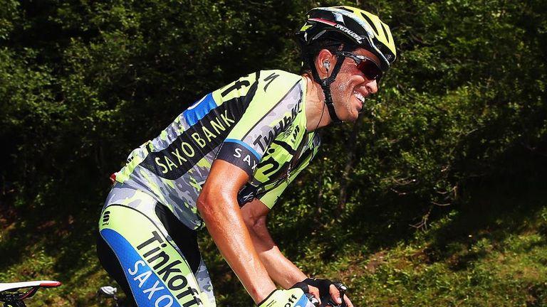 Alberto Contador lost 2min 51sec on stage 10