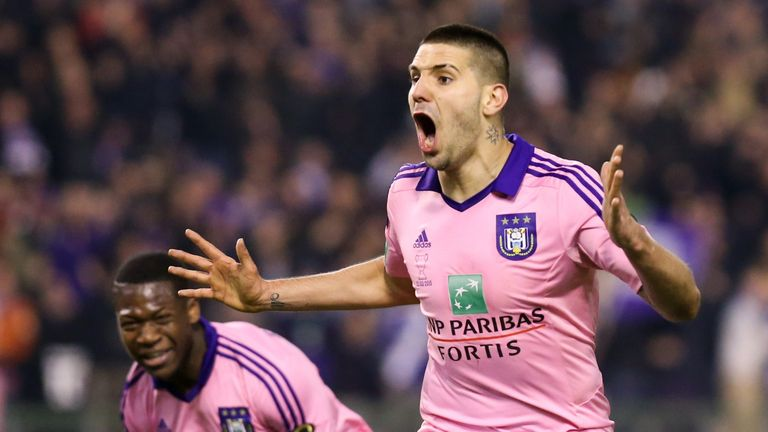 Alexandar Mitrovic has joined Newcastle from Anderlecht